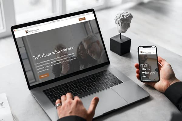 quill and lens homepage